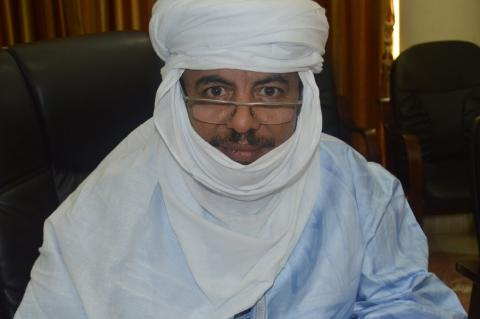 Le Ministre de l'Education Nationale, Mohamed Ag Erlaf